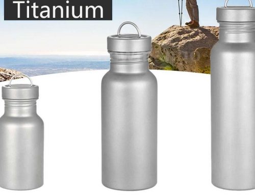 KingStar Titanium Water Bottle Debut on the International Stage