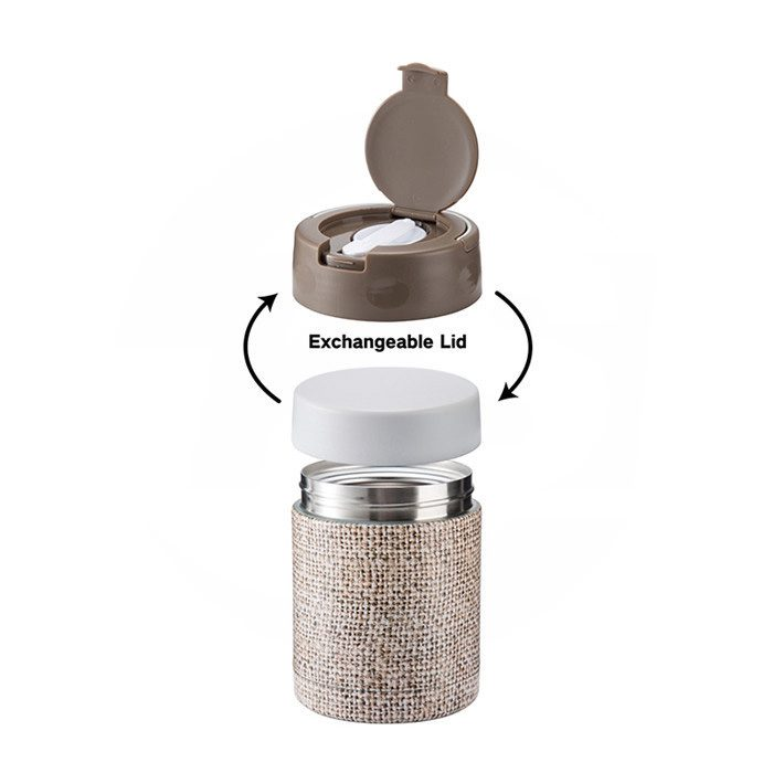 Vacuum Insulated Double Wall Stainless Steel Food Jar