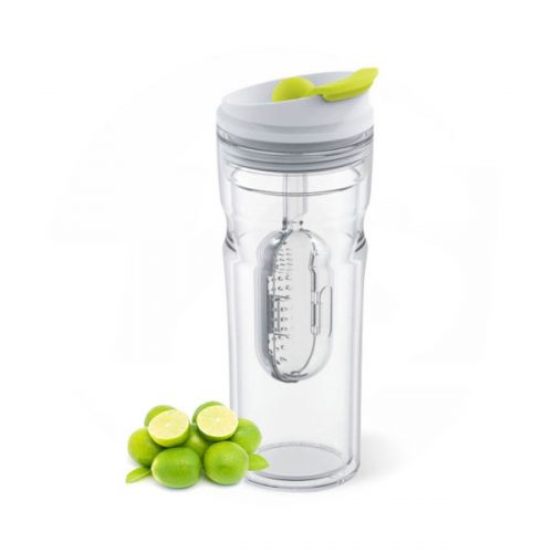Tritan Sports Water Bottle with Fruit Infuser