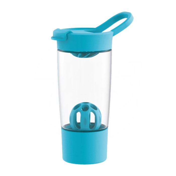 Tritan Tumbler Protein Shaker Bottle with Shake Ball And Silicone Bumper