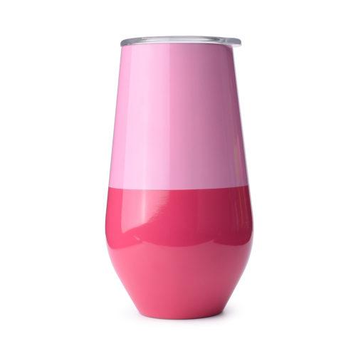 stainless steel wine mug 16 oz
