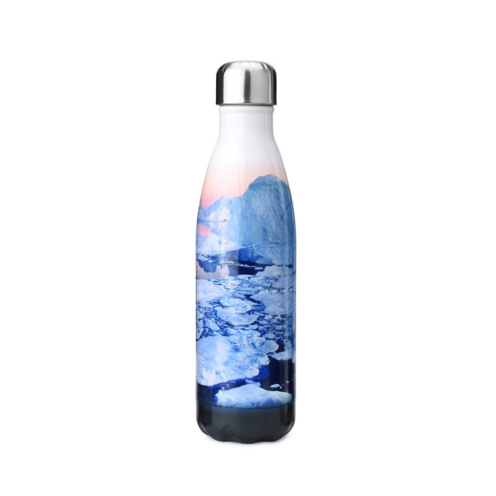 thermal insulated stainless steel water bottle