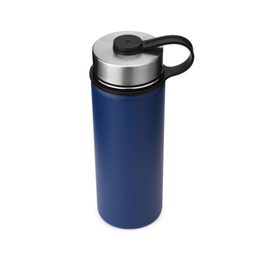 thermal insulated water bottle with stainless steel sports cap