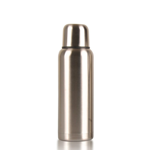 water bottle with cup