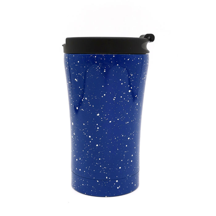 Stainless steel tumbler cup with flip lid