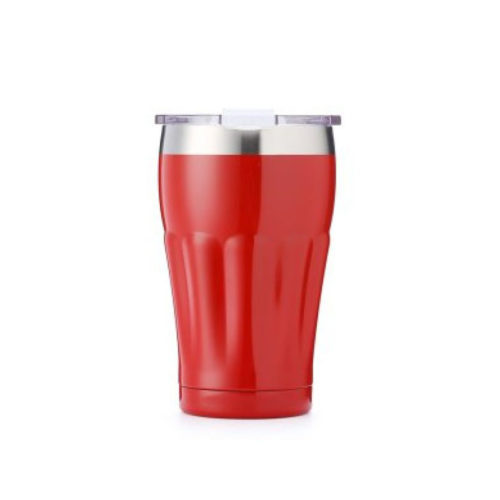 tumbler with clear flip lid