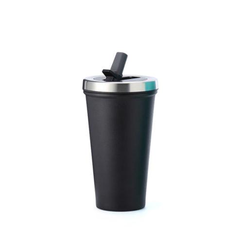 Mug with Straw Lid