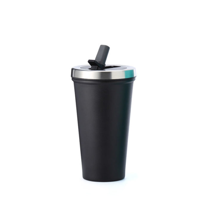 Mug with Straw Lid