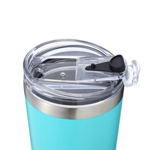tumbler with flip lid