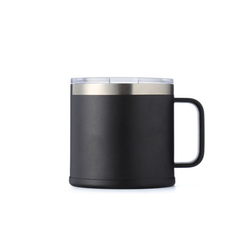 tumbler with handle and slider lid