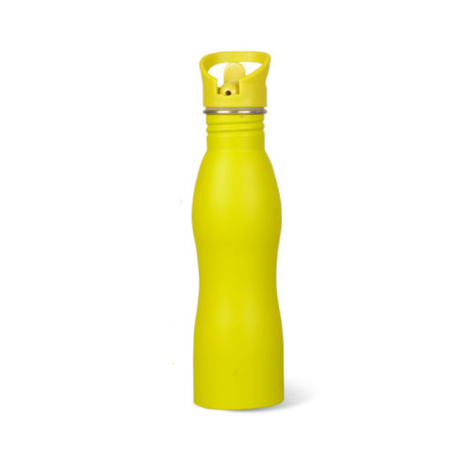 water bottle with straw lid