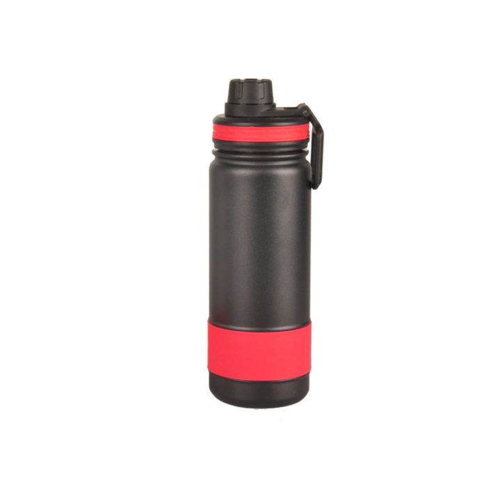 Vacuum Insulated Double Wall Stainless Steel Wide Mouth Water Bottle