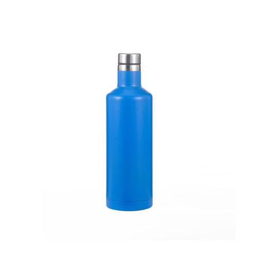 Vacuum Insulated Stainless Steel Spirit Wine Bottle with BPA Free Lid
