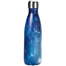cola shape insulated water bottle