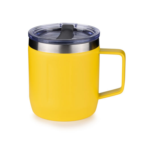 insulated coffee mug with handle