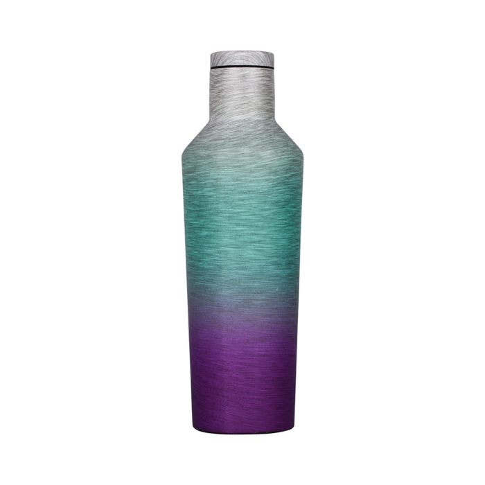 vacuum insulated triple wall wine bottle
