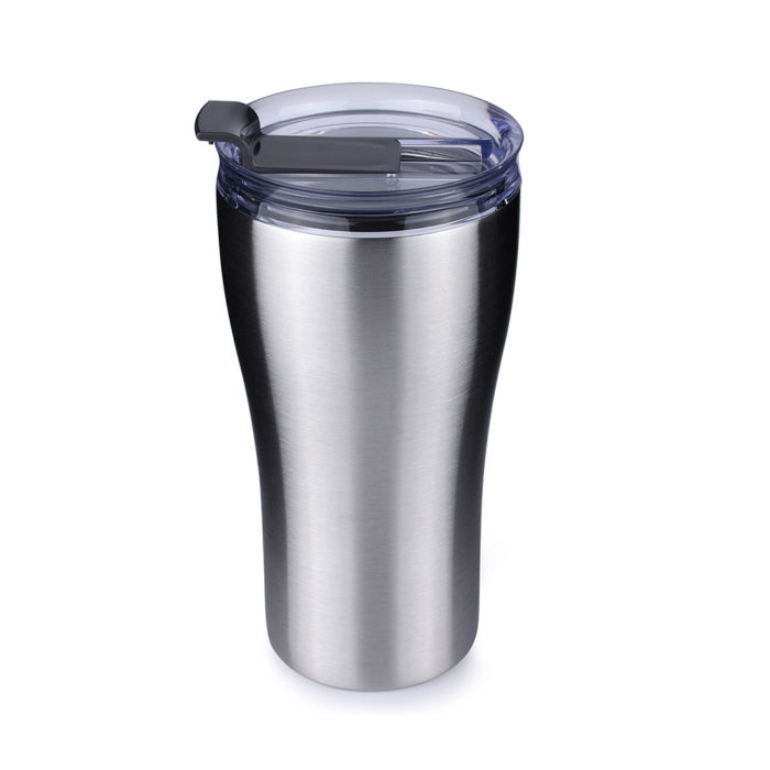 insulated tumbler with clear lid