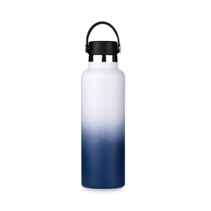 standard mouth insulated bottle with flex cap