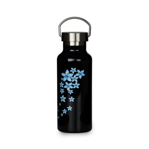 vacuum insulated bottle with stainless steel cap