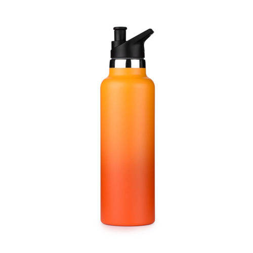 insulated bottle with sport cap