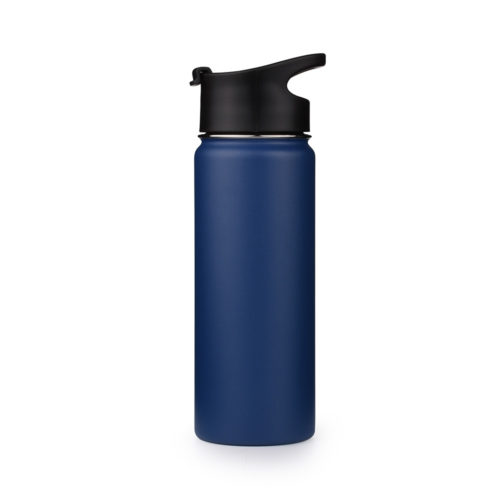 insulated stainless steel coffee mug with flip lid