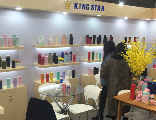 KingStar Insulated Bottles are Popular at the East China Fair