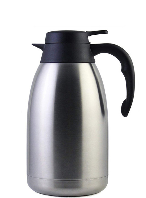 vacuum insulated stainless steel double wall coffee pot jug