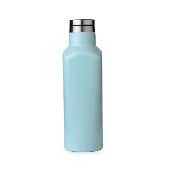 stainless steel square shape bottle
