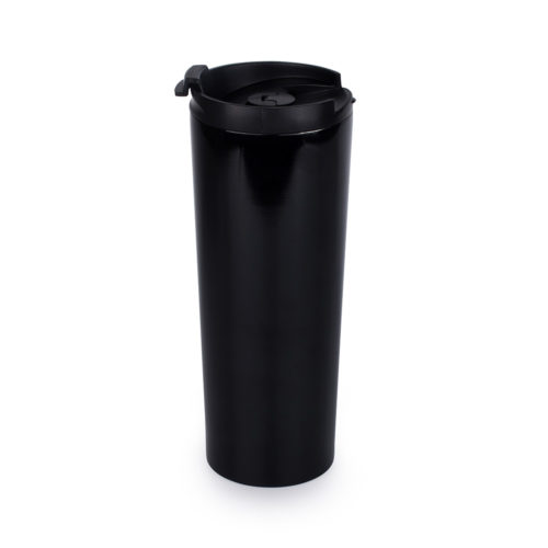 stainless steel travel coffee press mug