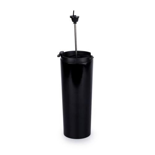 stainless steel travel coffee press mug