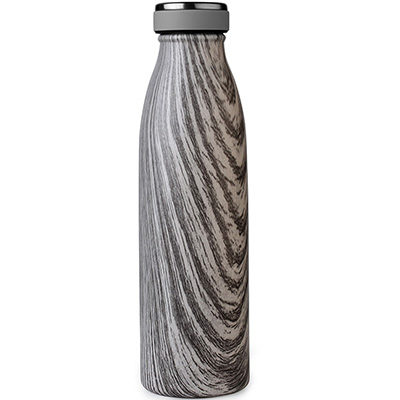 wave shape reusable water bottle