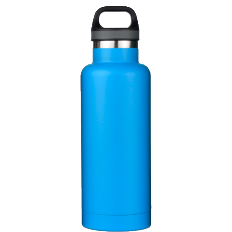 stainless steel wide mouth sports water bottle