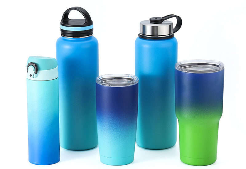 reusable travel mug and bottle