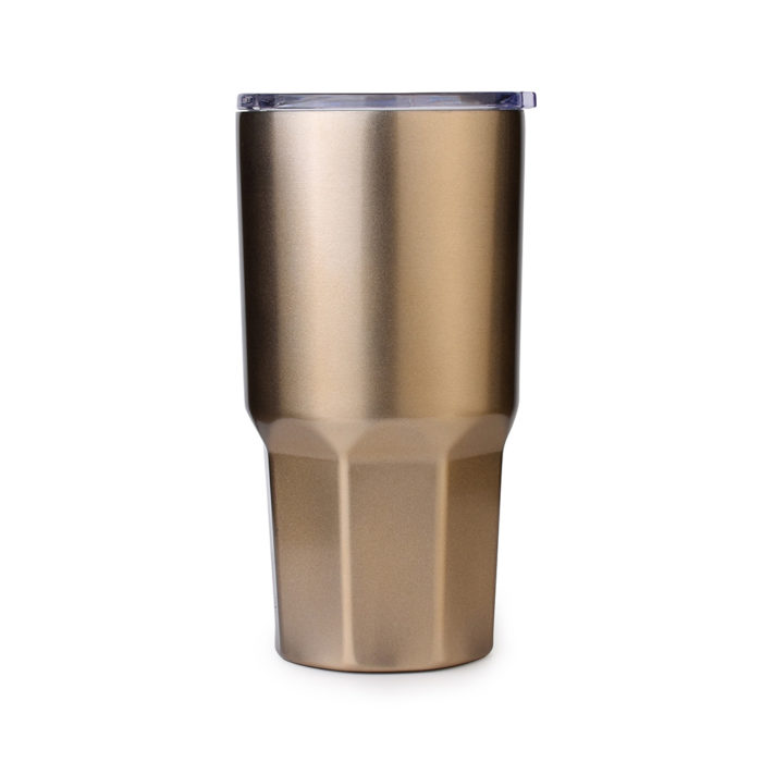 insulated tumbler with anti-slip bottom