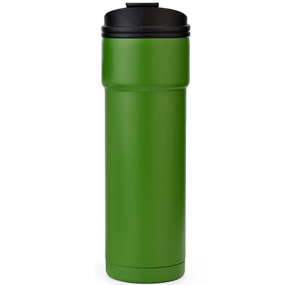 vacuum insulated tumbler with flip lid