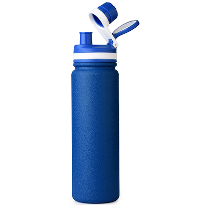 insulated reusable sports bottle with spout lid