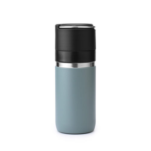 stainless steel thermos bottle with ceramic coating
