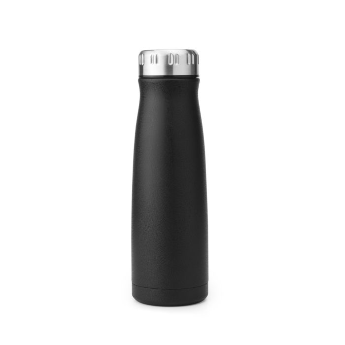 vacuum insulated stainless steel drink bottle with cola shape