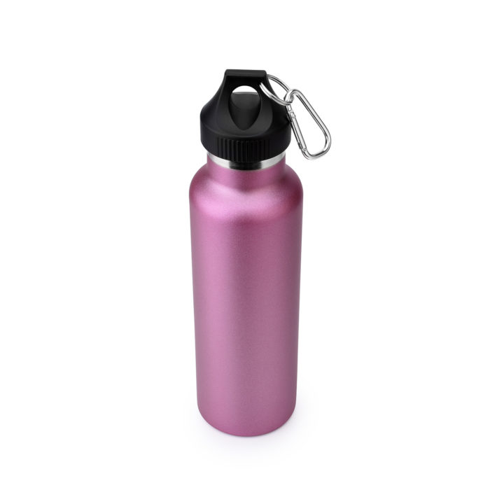 thermos stainless steel water bottle with carabiner
