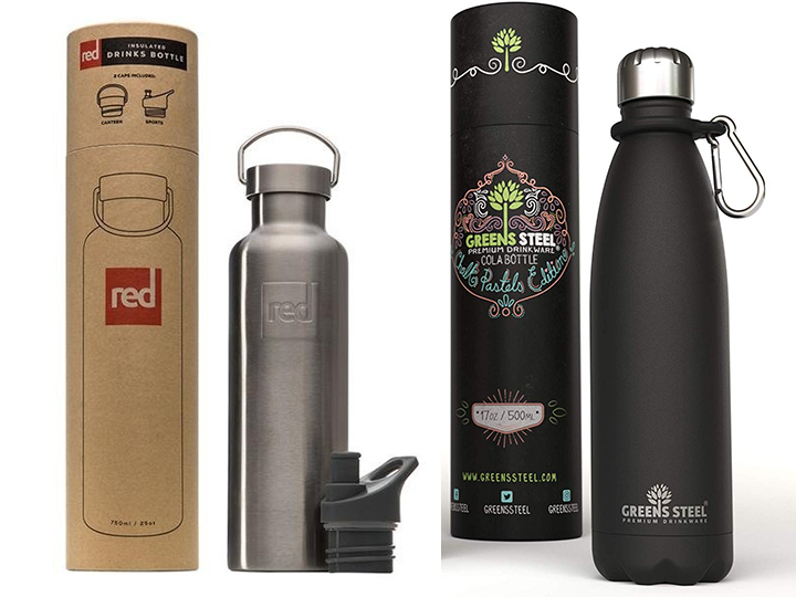 water bottle cylinder box packing