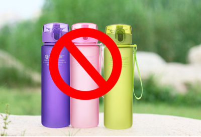 plastic water bottle is not good for health.