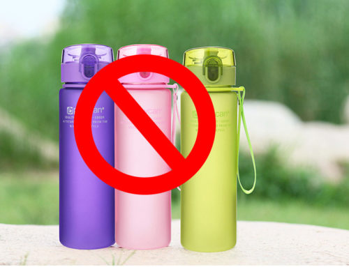 Do Not Hold Hot Water in Plastic Water Bottles