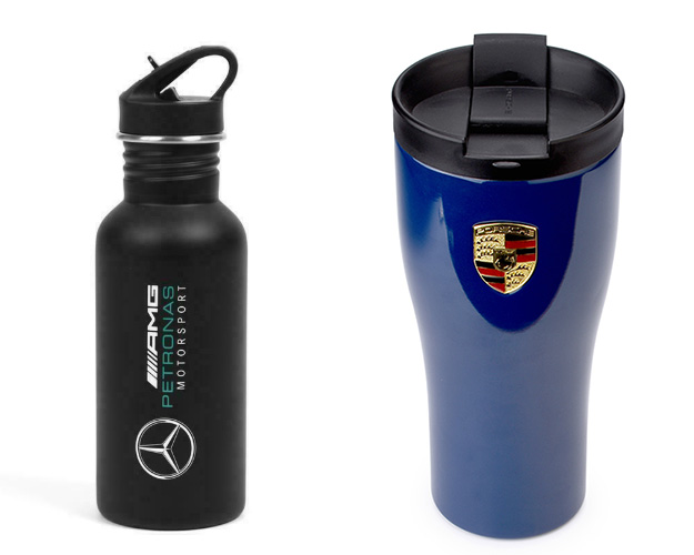 gift thermos bottle and tumbler
