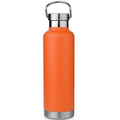thermos bottle with stainless steel handle