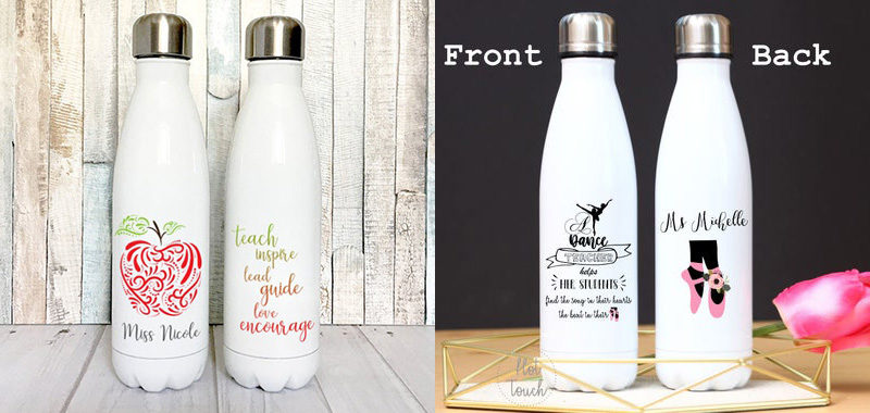 corporate gift stainless steel water bottle