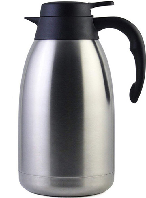 vacuum insulated stainless steel double walled coffee pot
