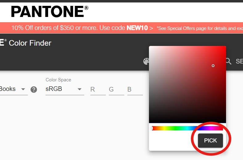 Pantone Color inquiry