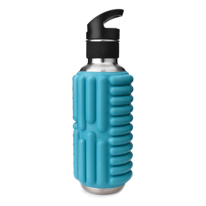 customized foam roller water bottle