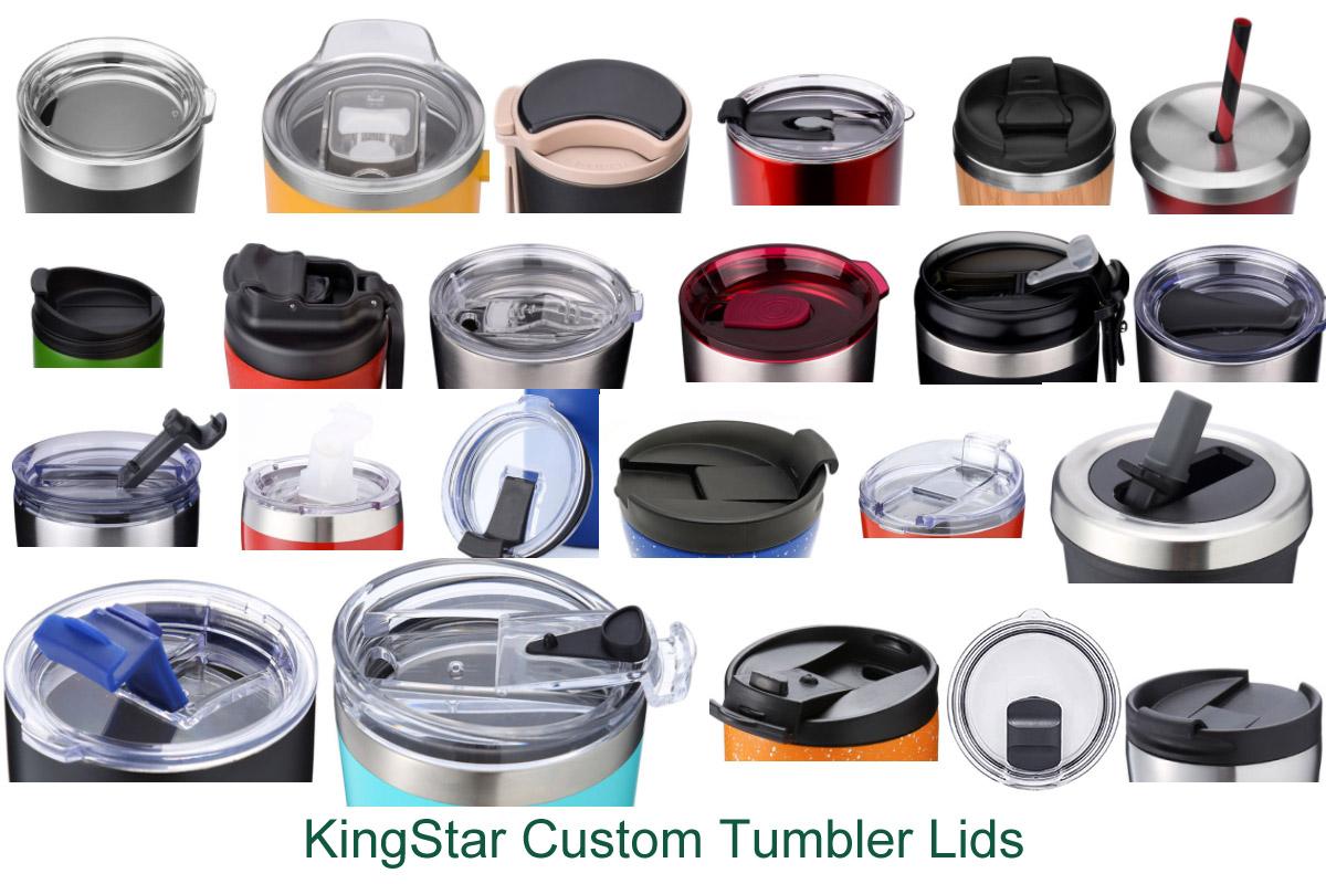 custom tumbler cup lids