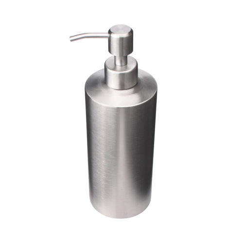 stainless steel lotion bottle